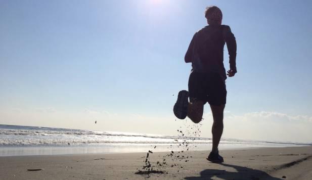 Courir plage2